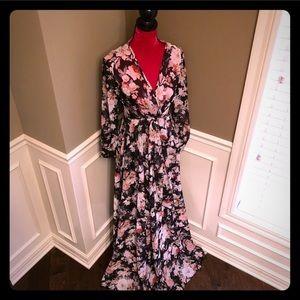 Windsor floral long sheer maxi